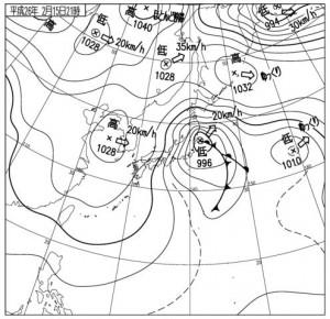 14021521地上天気図